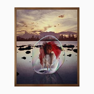 Small All I Loved I Loved Alone Framed Printed Canvas