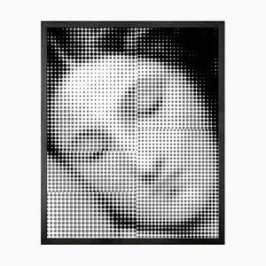 Small Comic Book Venus Framed Printed Canvas
