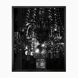 Small Chandelier 13 Framed Printed Canvas