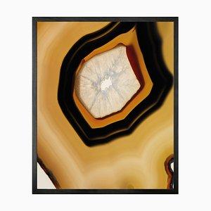 Kleines Geode 2 Gerahmtes Bedrucktes Leinen