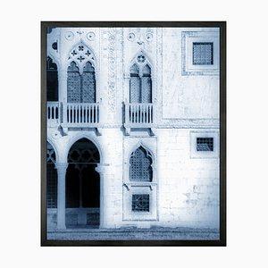 Kleine Venedig Vintage Bedruckte Leinwand mit 11 Fächern