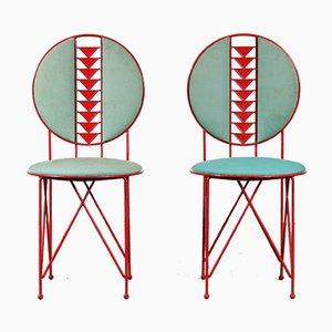 Midway 2 Stuhl von Frank Lloyd Wright für Cassina, Italy, 1980er