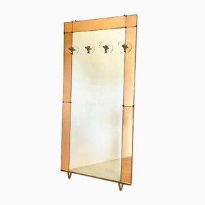 Spiegelaufhänger von Cristal Art, 1960er