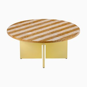 Sediment Coffee Table in Giallo by Reale Studio Besau-Marguerre for Favius