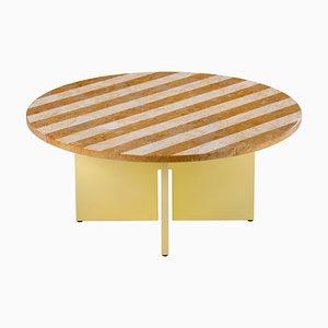 Table Basse Sediment en Giallo par Reale Studio Besau-Marguerre pour Favius