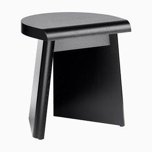 Portao Hocker in schwarz gebeizter Eiche by Christian Haas für Favius