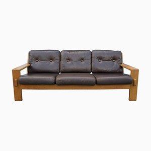 Leather Bonanza Sofa by Esko Pajamies for Asko, 1970s