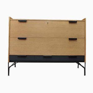 Double-Flap Secretaire with Drawers by Gerard Guermonprez, 1950s