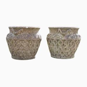 Vintage Planters from Cotswold Studio, Set of 2