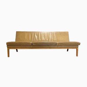 Leather Sofa by Rudolf Glatzel for Kill International, 1960s