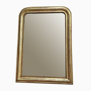 Louis Philippe Mirror in Giltwood, 1900s