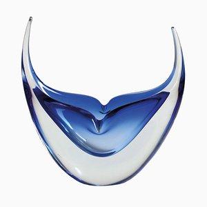 Gehörnte Murano Glas Skulptur von Cesare Toso, 1970er