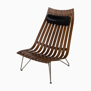 Scandia Lounge Chair by Hans Brattrud for Hove Møbler, Norway, 1960s