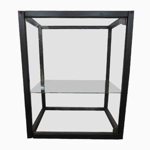 Showcase Cabinet with Wood Frame & Glazed on 6 Sides