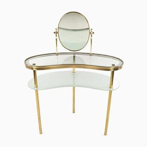 Dressing Table with Mirror by Luigi Brusotti, Italy, 1940s