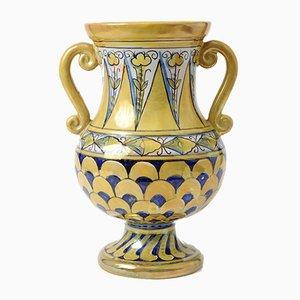 Vaso in stile rinascimentale di Luca Della Robbia, Italia, anni '50