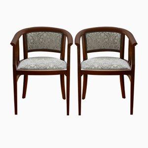 Art Nouveau Chairs, Set of 4
