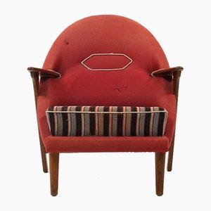 Mid-Century Danish Easy Chair by Arne Olsen Hovmand, 1950s
