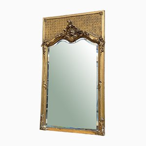 Vergoldeter Spiegel, spätes 19. Jahrhundert