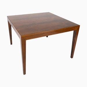 Coffee Table in Rosewood by Severin Hansen for Haslev Furniture, 1960s