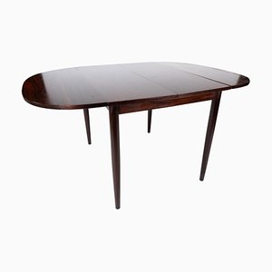 Dining Table in Rosewood with Extensions by Arne Vodder, 1960s