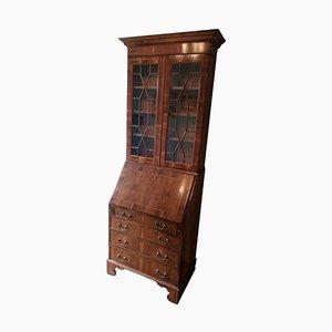 Antique English Yew Secretaire