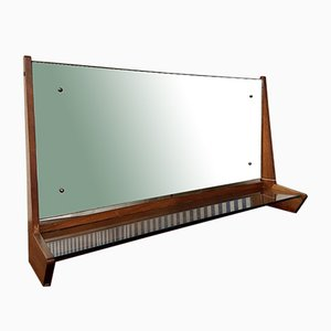 Mid-Century Teak Overmantel Dressing Table by Archie Shine