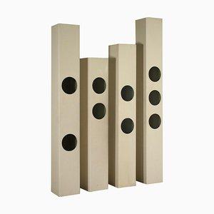 Exhibitors Columns, 1960s, Set of 4