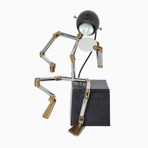 OSQAR Robot Lamp by Ygnacio Baranga for Kumade