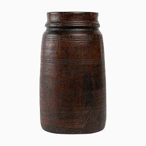 African Art Vase