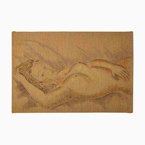 Nude, 20th Century, Oil on Canvas