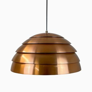 T325/450 Copper Ceiling Lamp by Hans-Agne Jakobsson, Sweden, 1960s