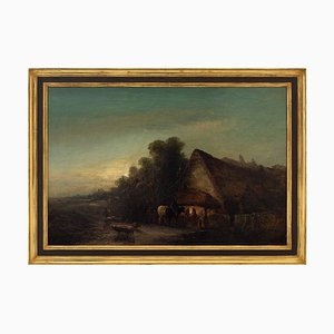 Edward Charles Williams, Evening at the Forge, Chiddingstone, Kent
