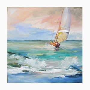 Liliane Paumier, The Sailboat, 2021