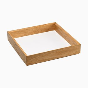 Tidy Tray in White by Christian Stoffel for Favius