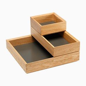 Tidy Tablett Set in Umbra von Christian Stoffel für Favius