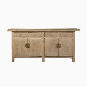 Double-Sided Elm Sideboard