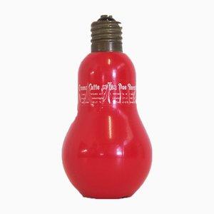 Light Bulb-Shaped Bottle from Due Moretti Cremacaffè, 1970s