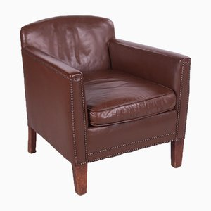 Vintage Sheepskin Club Chair