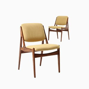 Ella Chairs by Arne Vodder for Vamo, 1960s, Set of 2
