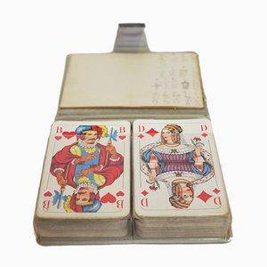 Reise Notizblock mit Spielkarten von Schmids Munchen Spielkarten, 1960er