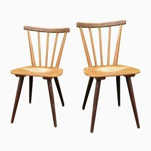 Scandinavian Dining Chairs, 1950s, Set of 2