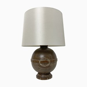 Limed Oak Lamp
