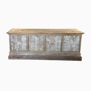 Antique Shop Counter