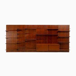Large Teak BO71 Wall Shelf by Finn Juhl for Bovirke, 1960s