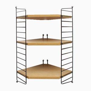 Corner Shelf by Kajsa & Nils Nisse Strinning for String, 1960s
