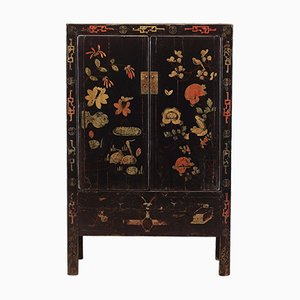 Black Painted Shanxi Wardrobe