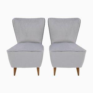 Mid-Century Modern Chairs by Guglielmo Veronesi for ISA, 1950s, Set of 2