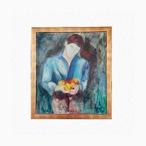 Gemälde von Boy with Fruit von Bruno Donadel