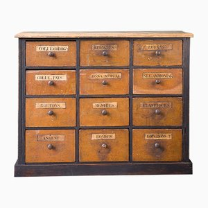 Vintage Grocery Sideboard or Chest of Drawers